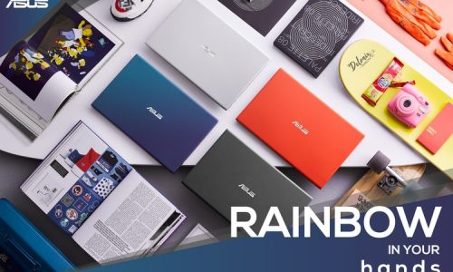 Asus VivoBook Ultra A412DA Rainbow in Your Hands
