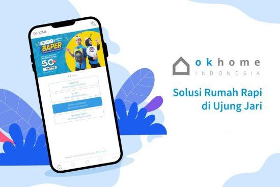 Aplikasi OKHOME: Solusi Rumah Rapi di Ujung Jari
